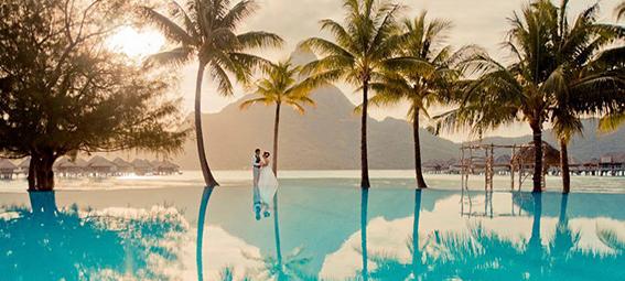 Casamento no Tahiti - na praia com as bençãos da natureza
