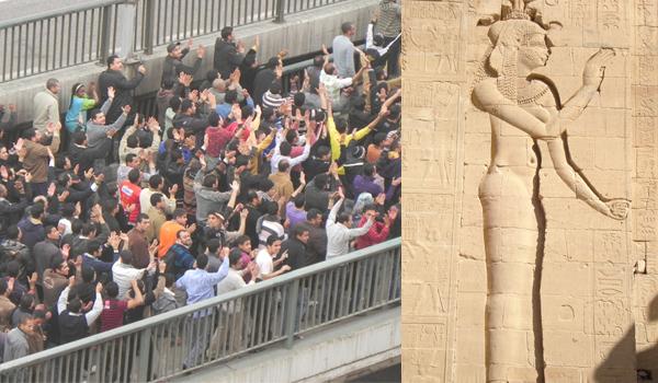 Egito férias na revolução num momento histórico do mundo
