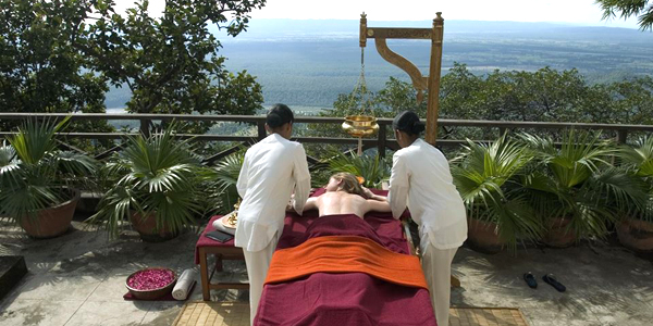 Índia: Programas de bem-estar para o corpo e a alma