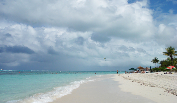 Praia de Turks e Caicos