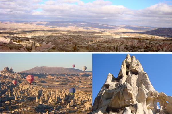 Capadócia: passeio de balão e hotéis em cavernas na Turquia