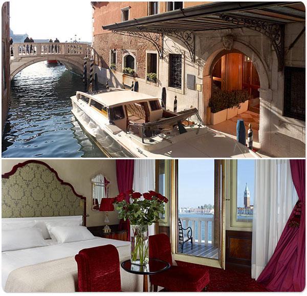 A lua de mel em Veneza: romance entre palácios e canais.