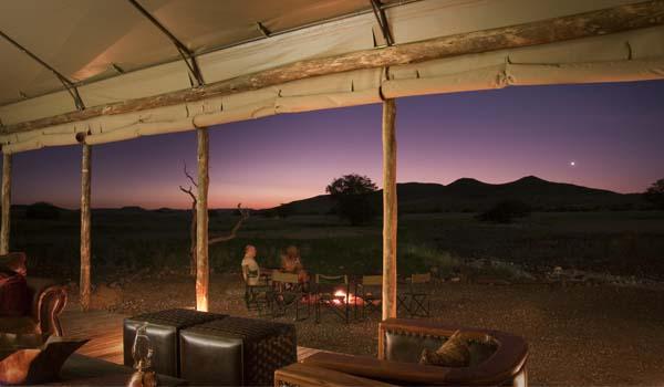 Namíbia - jantar sob as estrelas