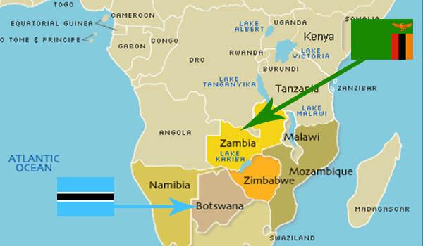 Zâmbia e Chobe National Park: cataratas, safáris e aventura