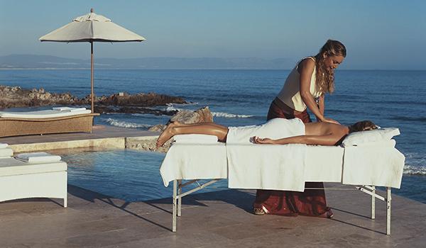 Massagem no sul da África do Sul