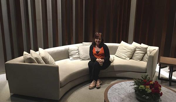 Lobby do Grand Hyatt