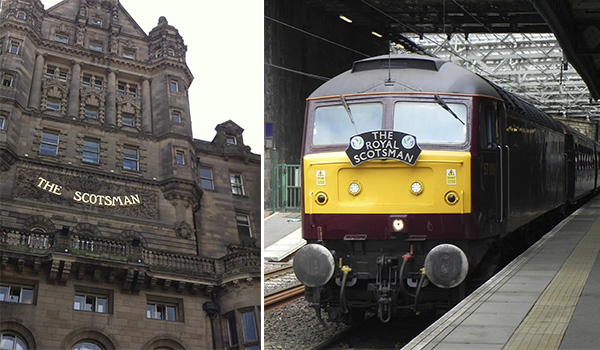 The Royal Scotsman - trem de luxo