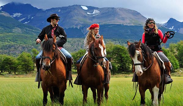 Cavalgadas na Patagônia