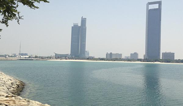 Praias nos Emirados Árabes