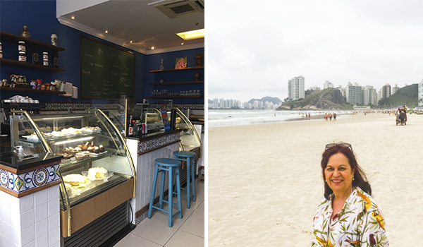 Guarujá litoral de São Paulo: praias de Pernambuco e Enseada