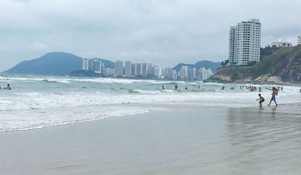 Guarujá melhores praias: Pernambuco e Enseada no litoral de São Paulo