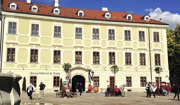 Um dia em Bratislava na Eslováquia a partir de Viena