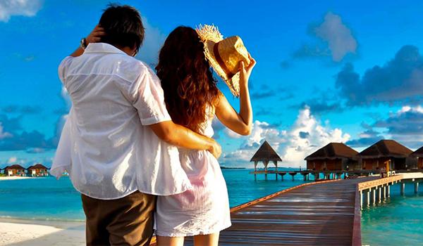 Viajar para comemorar: aniversário, casamento, lua de mel, Réveillon, etc.