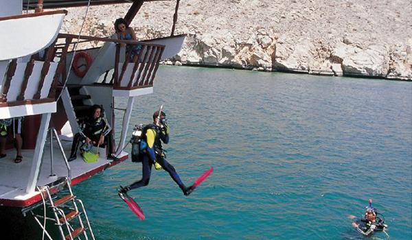 Mergulho em Omã