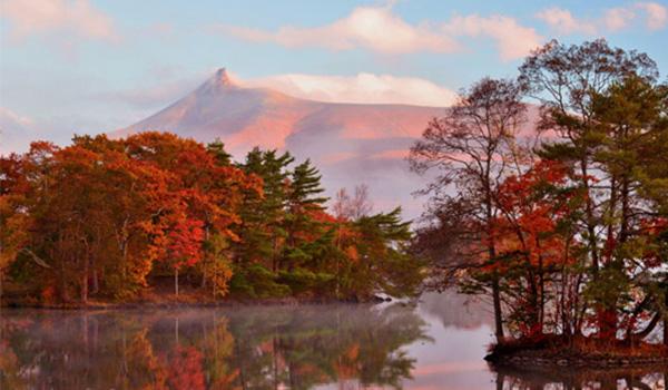 Viagens no outono, a meia estação nos hemisférios norte e sul