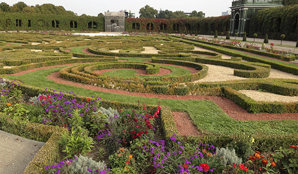 Viena e os jardins