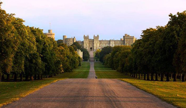 Casamento no Castelo de Windsor - príncipes da Inglaterra