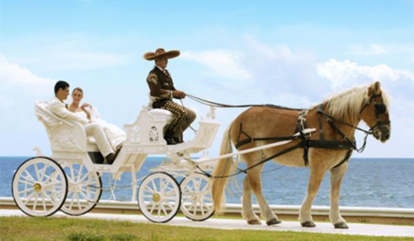 Destination Wedding em Cancún: casamento no México pé na areia