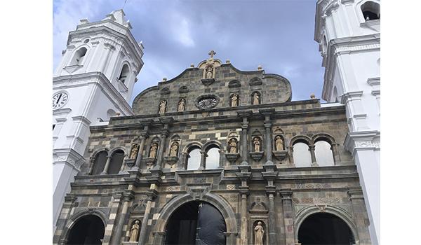 Patrimônio histórico em Casco Viejo