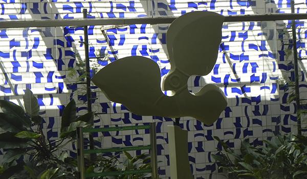 Atrações de Athos Bulcão em Brasília - a arte em azulejos