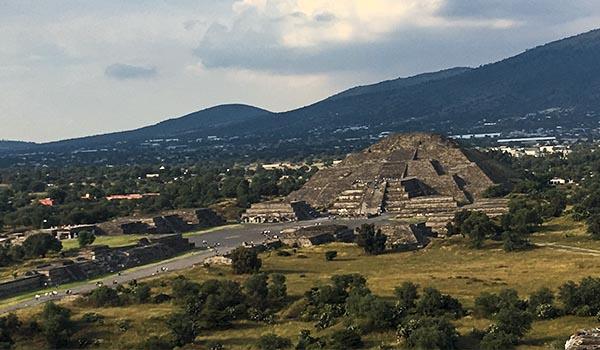 México Pirâmides do Sol e da Lua