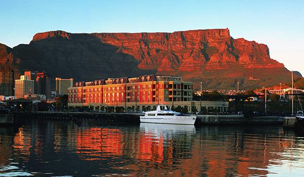 Hotéis na Cidade do Cabo no Waterfront, centro, praias e penhascos