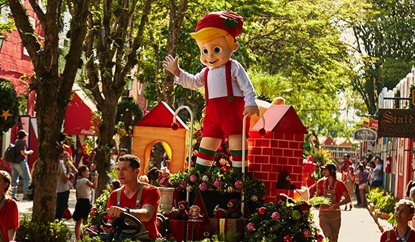9 Viagens no Natal pelo Brasil: com desfiles, decoração, shows e luzes