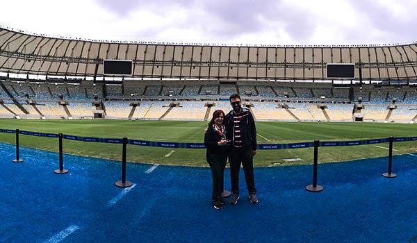 Visita ao Maracanã